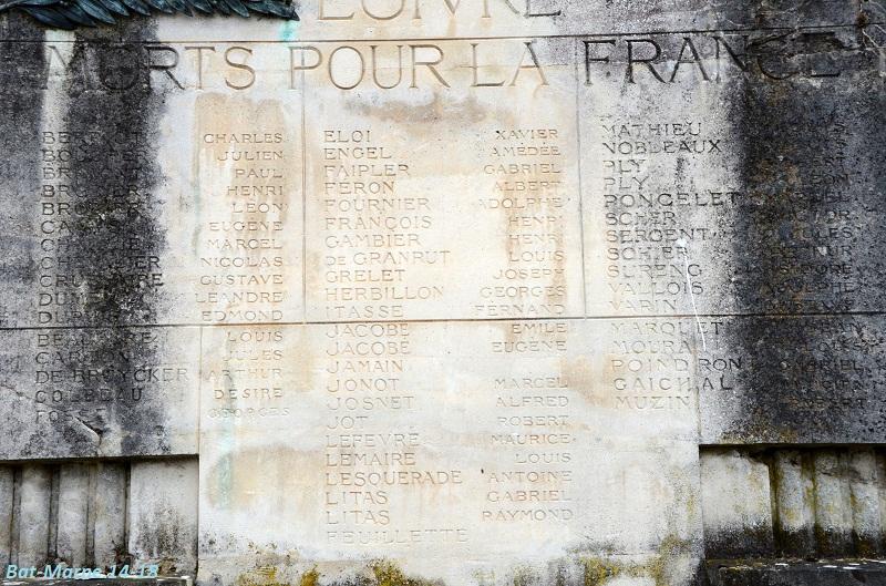 Le cimetière communal de Loivre (1ère partie) Liste11