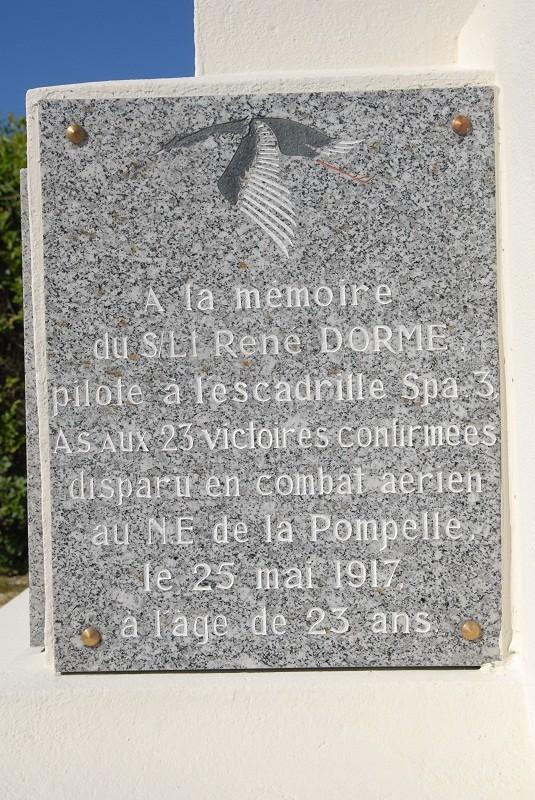 René DORME : un AS abattu dans le secteur de la Pompelle Rdorme10