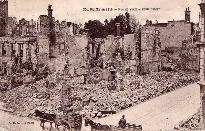 Cartes Postales  de Berry-au-Bac et de la Cote 108 Rdvesl11