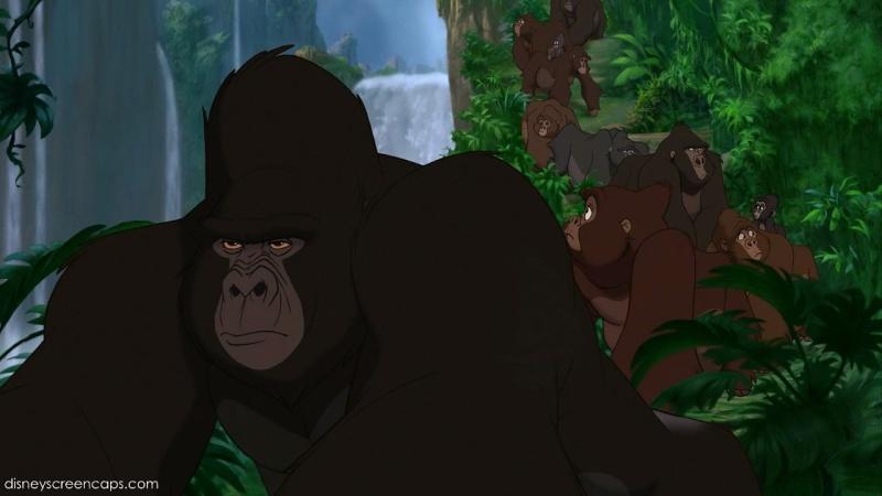 The characters Tarzan10