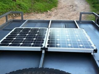Solar panel mounting 120wso10