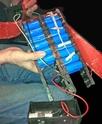 Avería / defecto de fábrica batería Li-ion 24V de Golden Motor (reparación en camino) Bat10