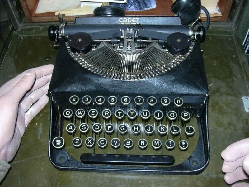 Les machines à ecrire U.S. WWII Dscn0387