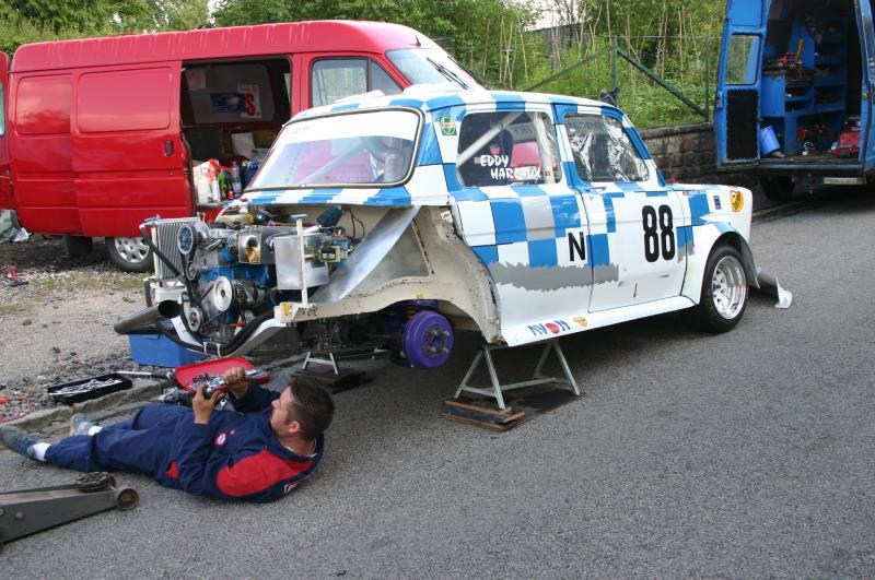 REMPLACEMENT TAMBOURS AR PAR DISQUES/ETRIERS Rallye11