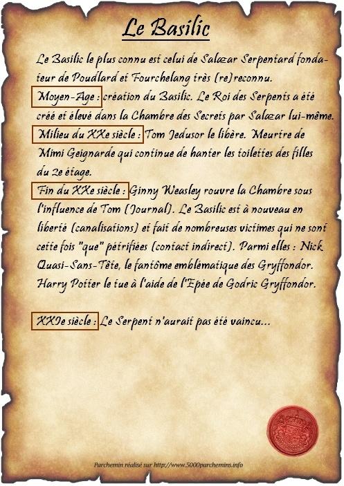 Cours n°1 - Le Basilic  - Page 2 Parche10