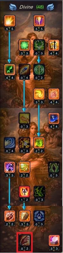 Sabrina's Divine Priest Guide Tree10