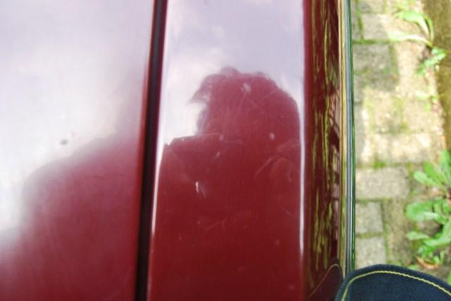 Lucidatura di rosso carminio monostrato di 40 anni fa Dsc_9311