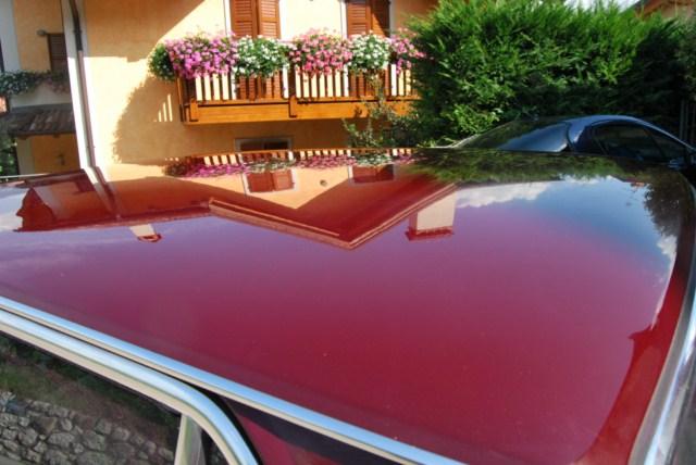 Lucidatura di rosso carminio monostrato di 40 anni fa Dsc_9324