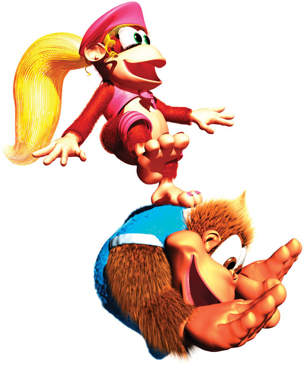 TEST VIDEO dixie kong's double trouble (dkc3) Dixieo10