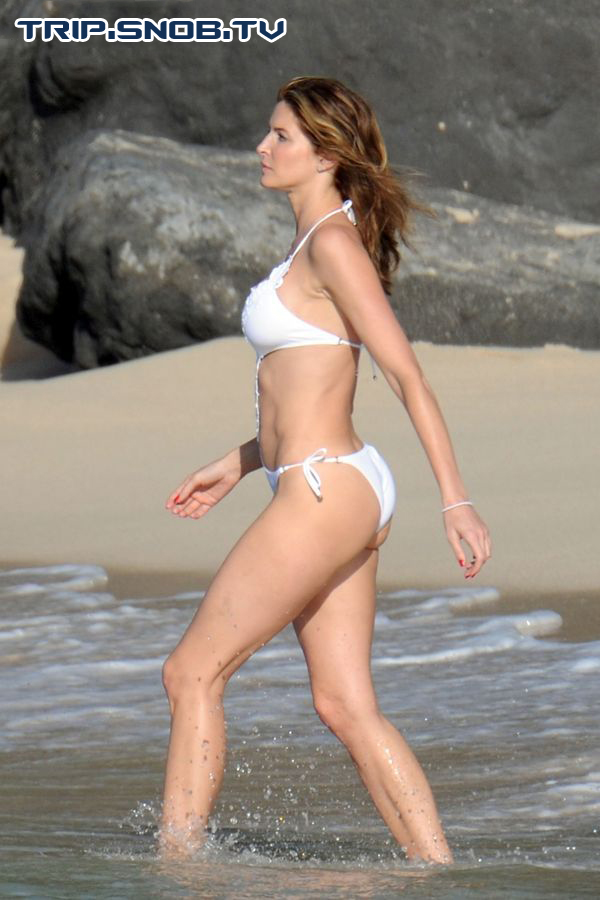 Stephanie Seymour enjoys the Ocean in St. Barts Stepha14