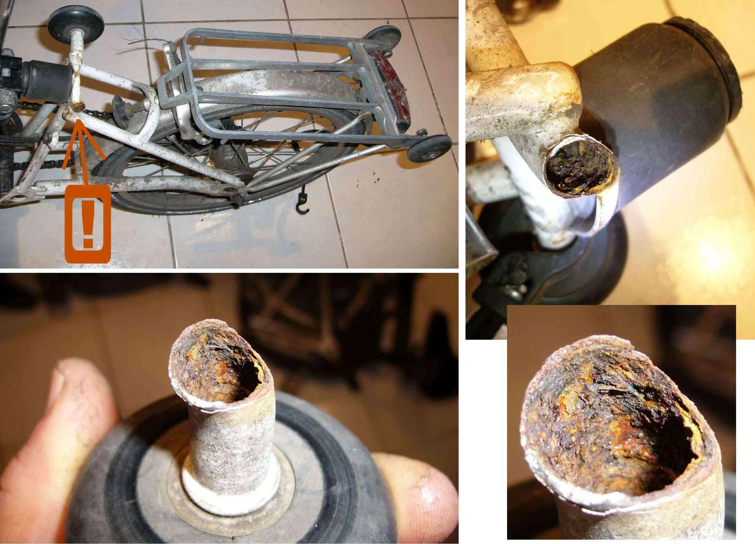 Corrosion du cadre : traitement préventif [anc. Obsolescence programmée du Brompton] Brompt10