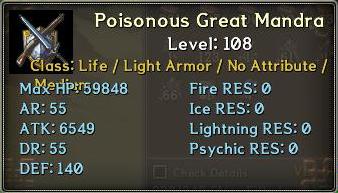 Mad Rafflesia - Clan Raid Poison10