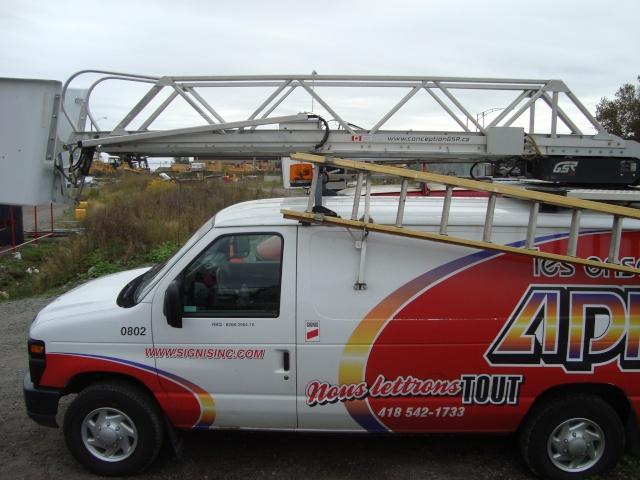 Van Dodge converti en camion-nacelle Dsc06510