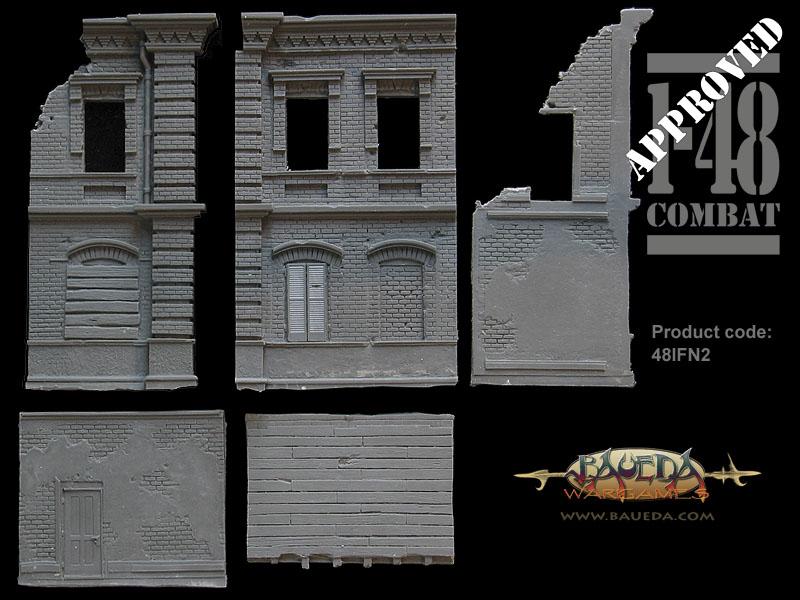 Edifici diroccati BAUEDA per 1-48COMBAT! Pc_48i10