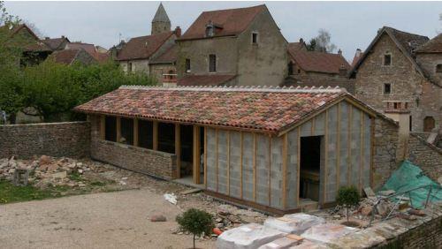 Brancion Extension de l'accueil du château Branci14
