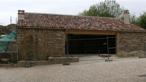 Brancion Extension de l'accueil du château Branci15