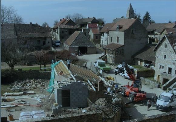 Extension de l'accueil du château Branci29