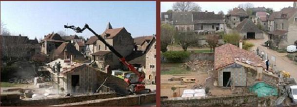 Brancion Extension de l'accueil du château Branci33