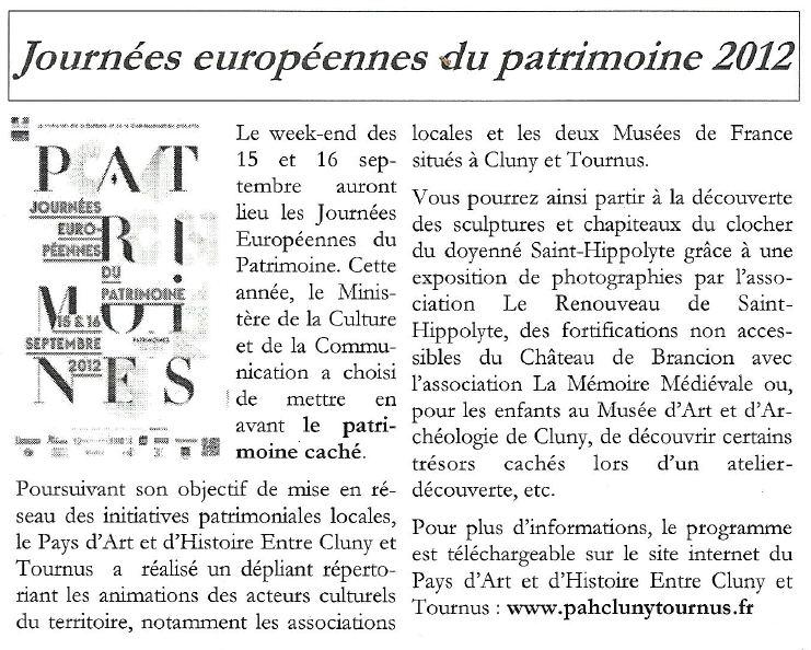 PAH Newsletter N°9 Jdp20110