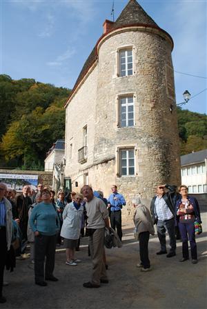 Réception à Lugny,  dimanche 21 octobre , des membres du Groupe Patrimoines 71 L-hist10