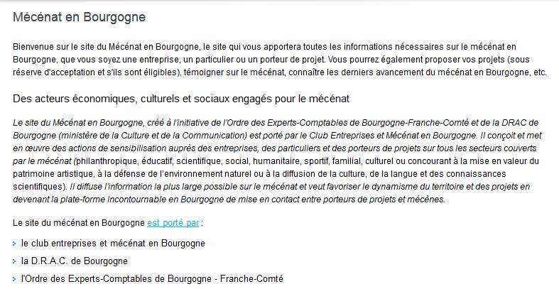 Mécénat Bourgogne Mb310