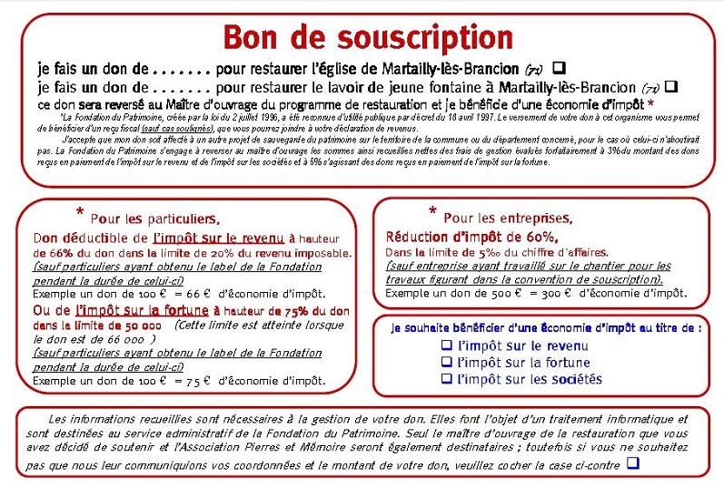 souscription Martailly 2012  Souscr13
