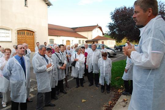 Réception à Lugny,  dimanche 21 octobre , des membres du Groupe Patrimoines 71 Tenue-11