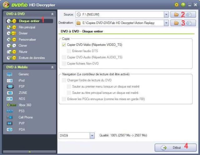 Ripper un DVD et obtenir un fichier Divx Dvdfab19