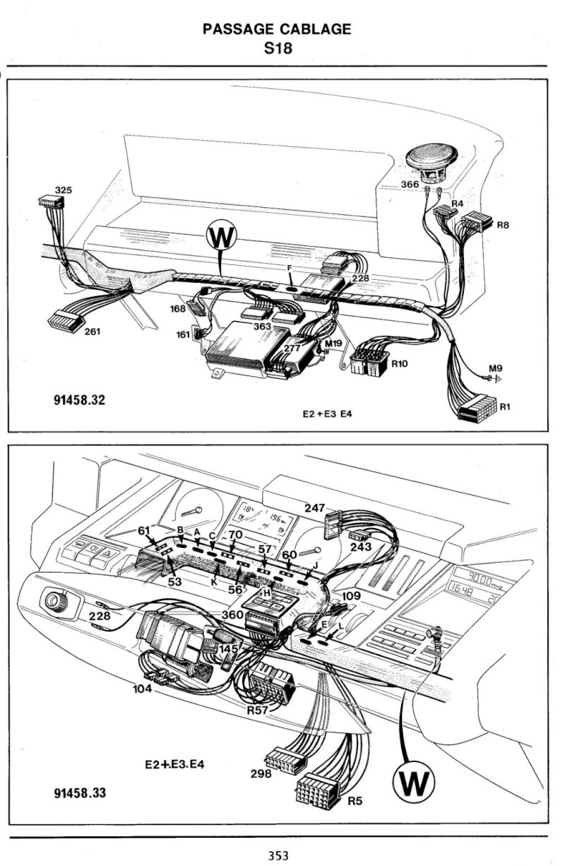 Recherche schéma injection R25 TX 2_page10