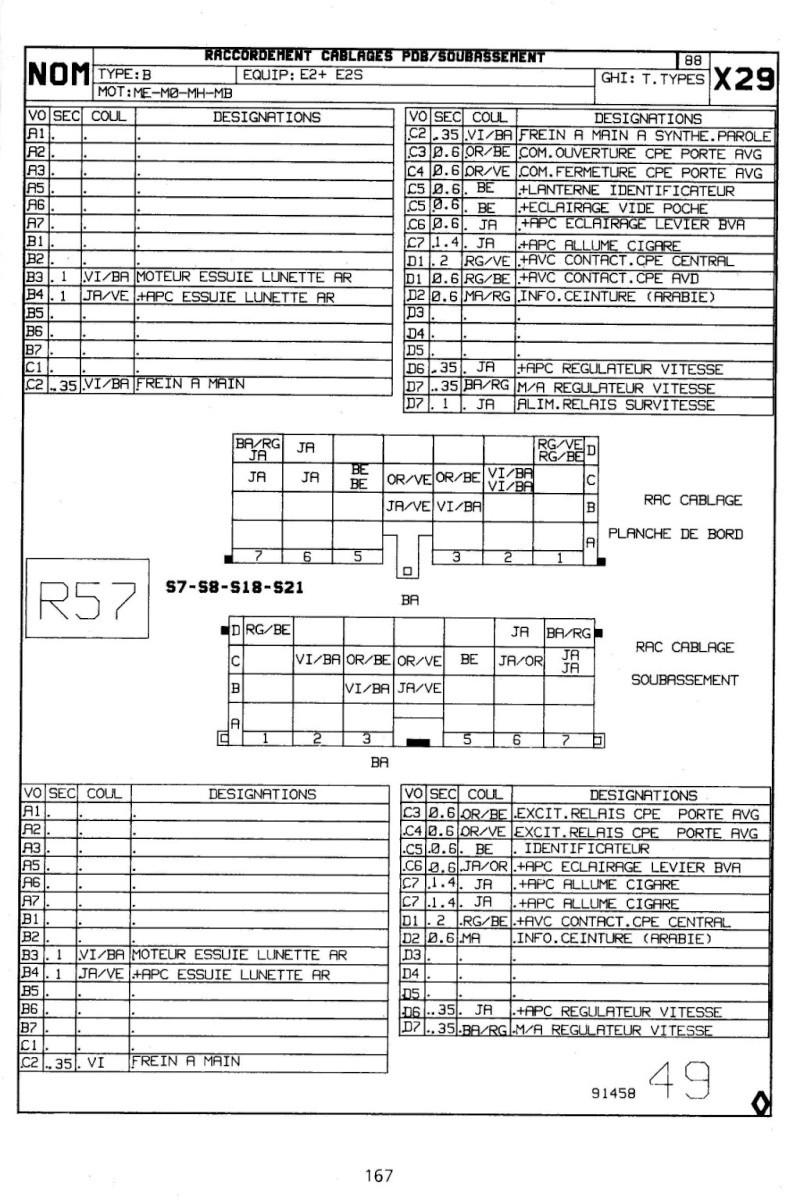 Recherche schéma injection R25 TX 3_tabl10