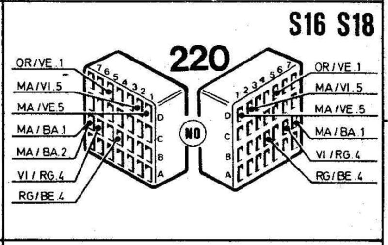 schema - Recherche schéma injection R25 TX 8_conn10