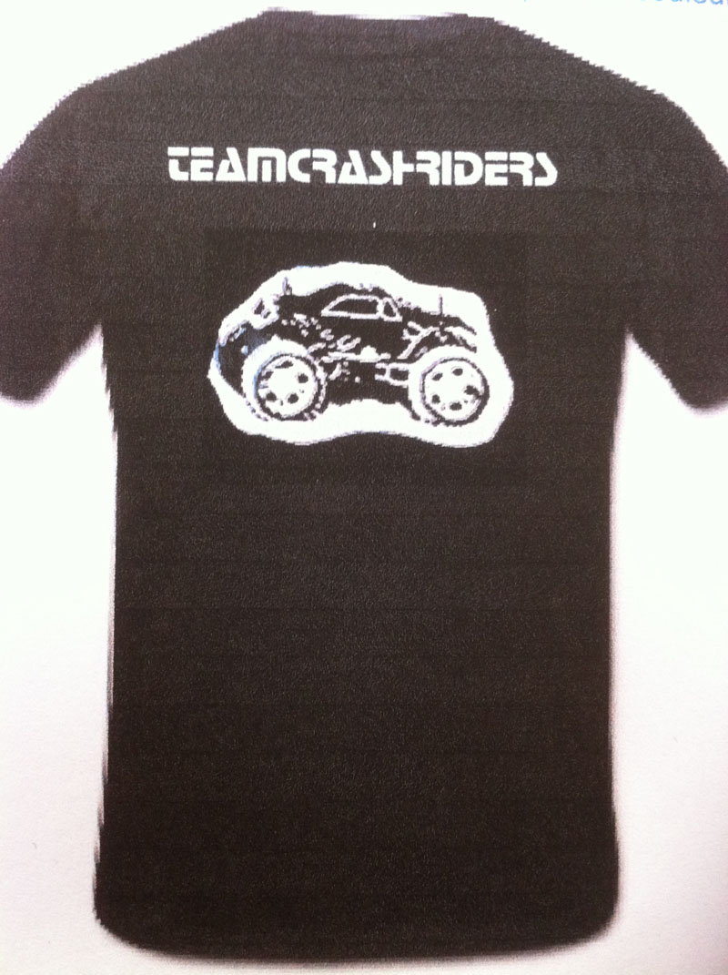 Tee shirt Team Crashriders Tshirt11