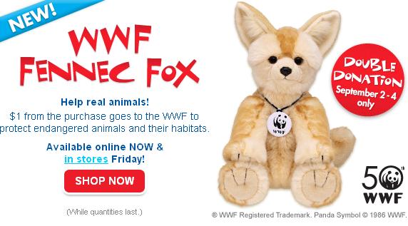 WWF Fennec Fox in Stores Friday!!! Screen16