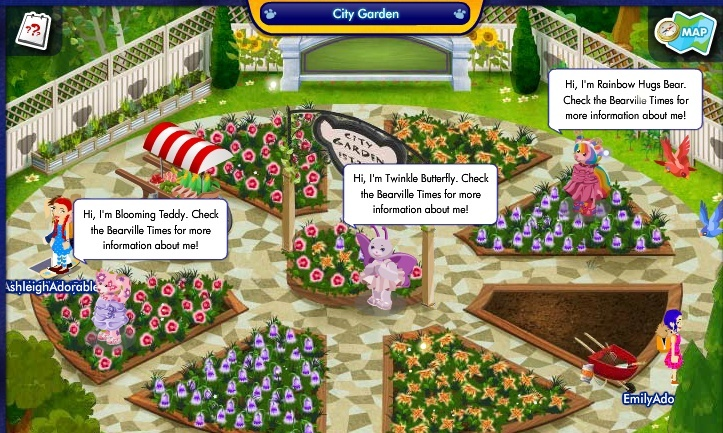 Enchanted City Garden and the Butterfly Friend Helpers Screen27