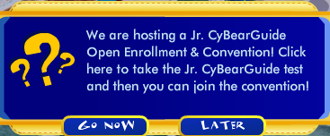 The Jr CyBearGuide Convention Has Arrived! Screen43