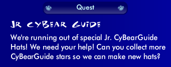 Jr CyBearGuide Quest Guide Screen48
