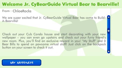 Active JrCyBearGuides Get A Virtual Bear! Screen58