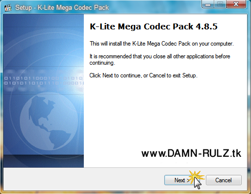 K-lite codec pack 011