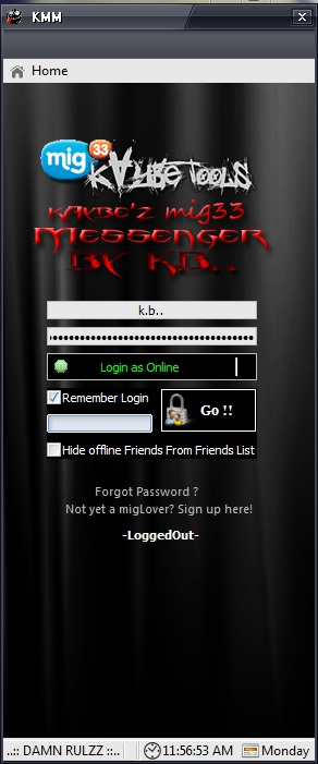 mig33 Messenger by kAybe (updated) 111