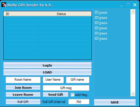 kAybe's Mig33 Multy Gift Sender Captur11