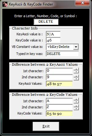 vb6 KeyAscii And KeyCode Finder Captur23