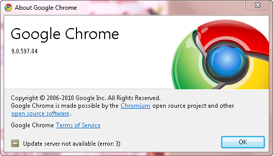 Google Chrome 8 stable Downlo10