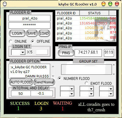 kAybe GC flooder v 1.0  >>COMING SOON<< Gc10