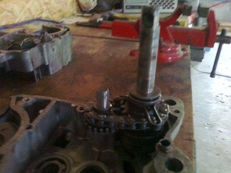 reconditionnement du moteur record de 64 Photo114