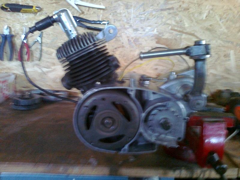 reconditionnement du moteur record de 64 Photo125