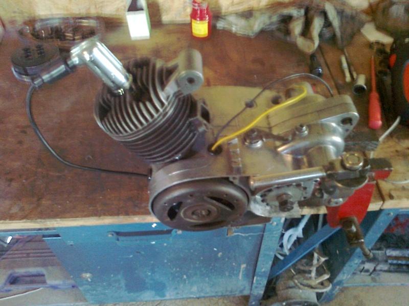 reconditionnement du moteur record de 64 Photo126