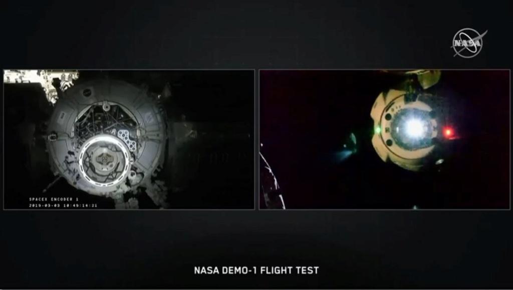 Falcon 9 (Dragon 2 Demo-1) - KSC - 02.03.2019 - Page 19 Captur12