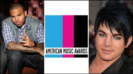 American Music Awards : 20 : 11 : 2011 Chris-10