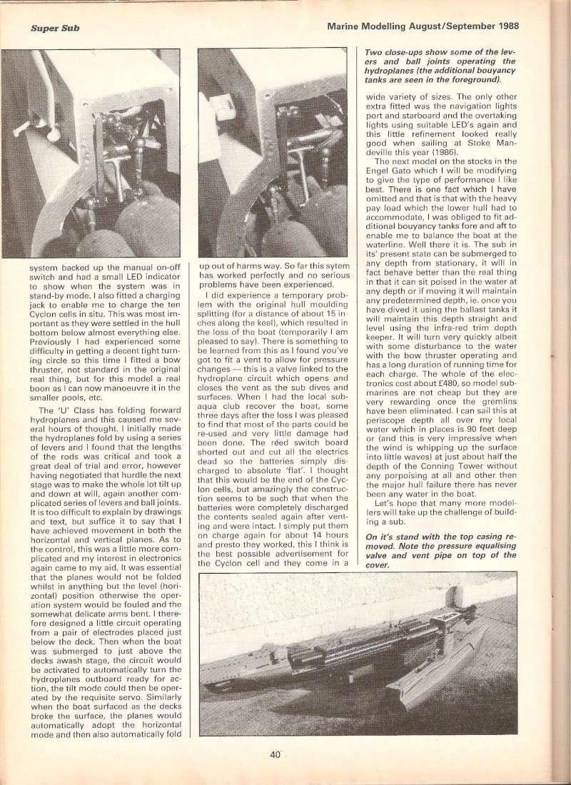 u class submarine  artical from1988 U_clas12