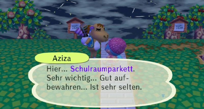 Ich habe von Aziza einen/eine ... erhalten. Ruu_1441